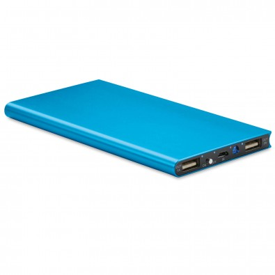 Powerbank Powerflat 8.000 mAh, Hellblau