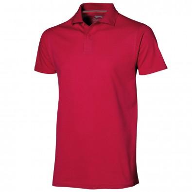 Original Slazenger Herren Polo-Shirt Advantage Red   M