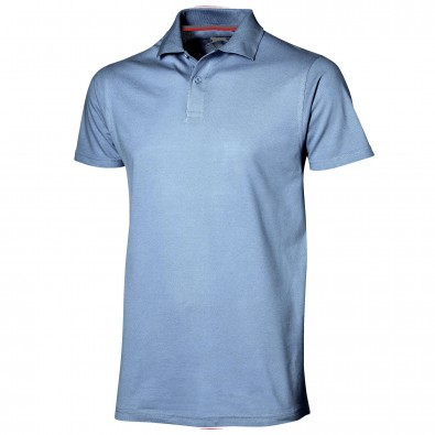 Original Slazenger Herren Polo-Shirt Advantage Light Blue | L