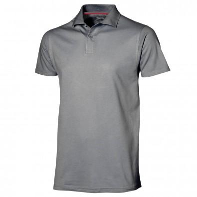 Original Slazenger Herren Polo-Shirt Advantage, Grey, M