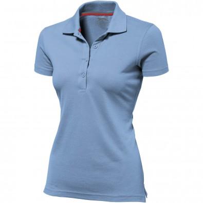 Original Slazenger Damen Polo-Shirt Advantage Light Blue | S