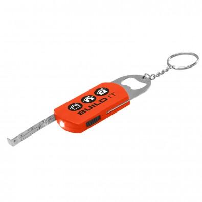 Multi Key Schlüsselanhänger Rot