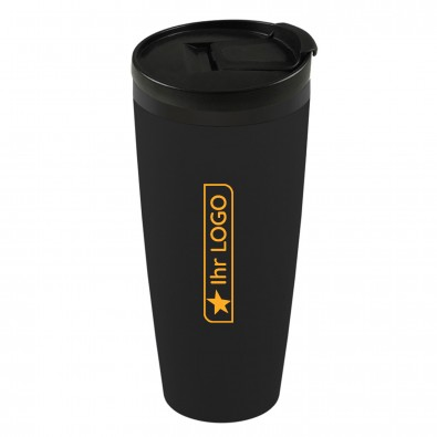 Isolierbecher Coffee-To-Go, schwarz