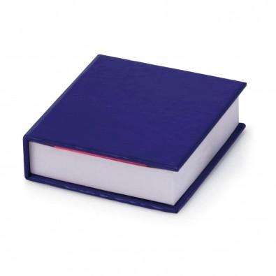 Zettelbox mit Haftnotizen, Blau