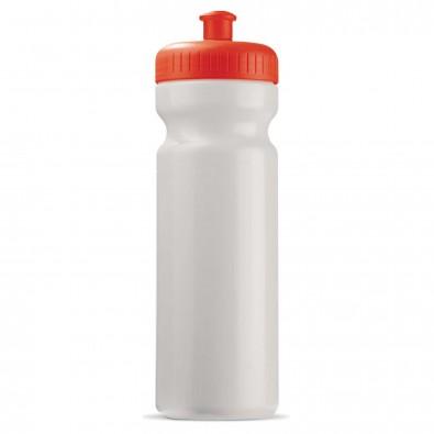 Trinkflasche 0,75 L Weiß/Rot