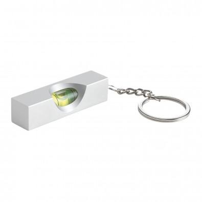 Schlüsselanhänger mit Mini-Wasserwaage