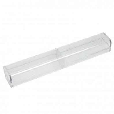 Kugelschreiber Etui, Box transparent