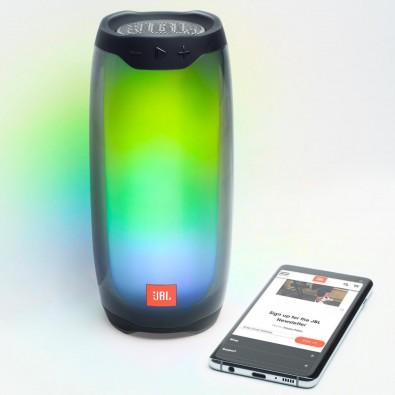 JBL Pulse 4 Tragbarer Bluetooth Lautsprecher, black