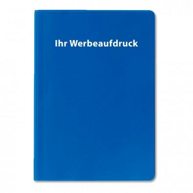 Agenda-Handwerker-Notizbuch, 12-sprachig, Blau