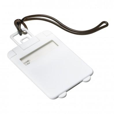 Kofferanhänger REFLECTS-VILLARICA, weiß