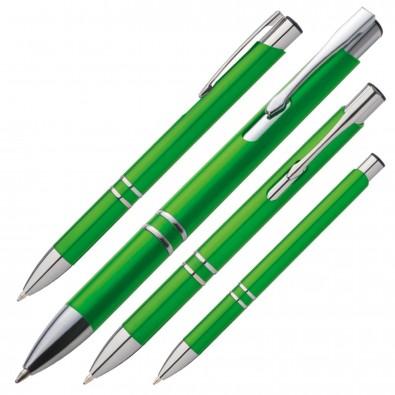 Kugelschreiber Baltimore, Grün-Metallic