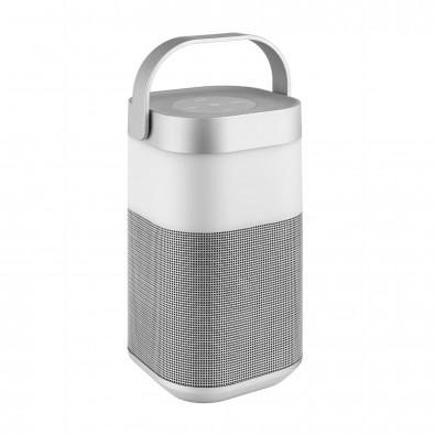 """Metmaxx® Bluetooth® Lautsprecher """"AmbientSoundTower"""" silber"""