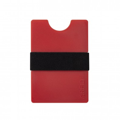 Mini-Portemonnaie iWallet Compact, Rot