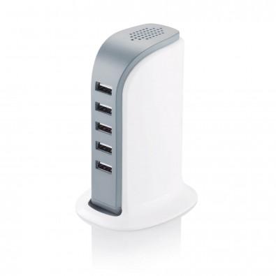 6A USB Ladestation, weiß