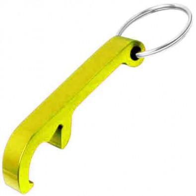 Schlüsselanhänger Kapselheber, Gelb