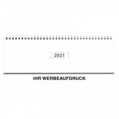 Querkalender Ideal II 2020 im Kartoneinband, Weiß