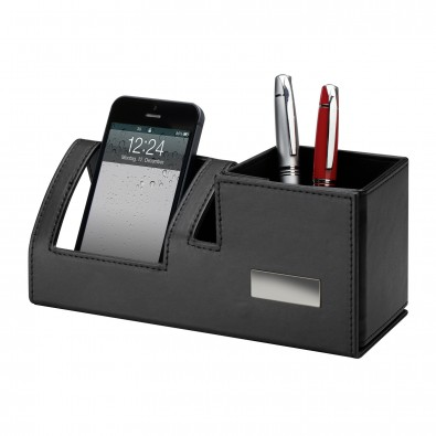 Schreibtischset REFLECTS-RISCA, schwarz