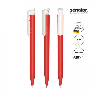 SENATOR Super Hit BIO Druckkugelschreiber, rot 485