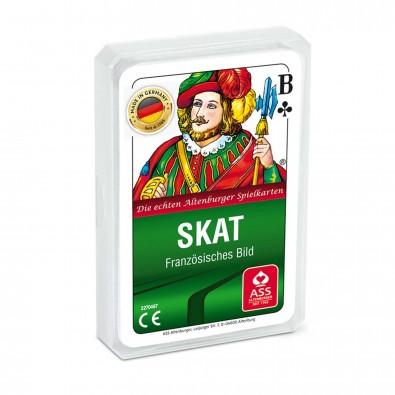 Skat-Spiel, Druck auf Klarsichtetui