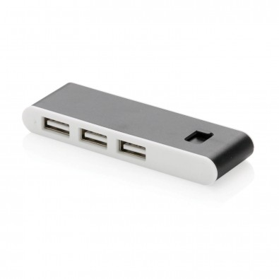 Type-C USB Hub, schwarz