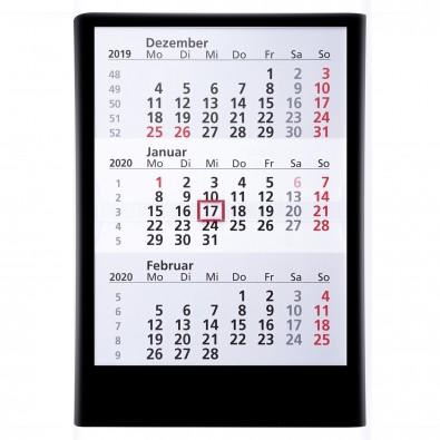 Wandkalender 2020/2021, Schwarz