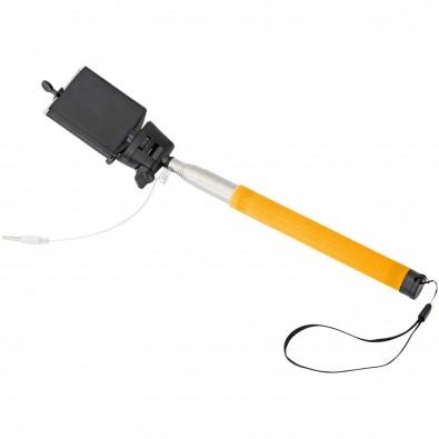 Wire Selfie Stick, orange