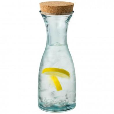Zest Recyclingglas Karaffe, transparent klar