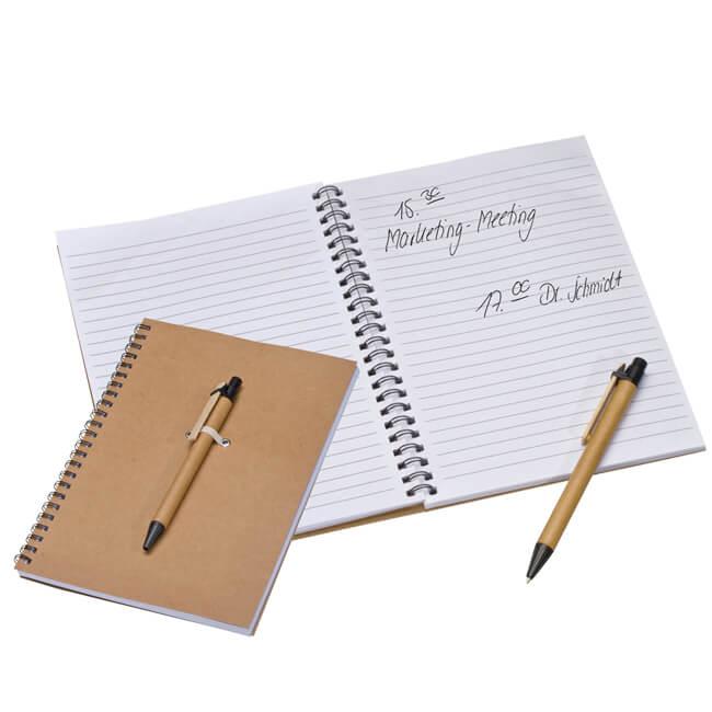 Ein bedrucktes Notizbuch mit Ihrem Logo in Kleinstmengen bestellen