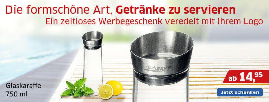 Produktslider Karaffe