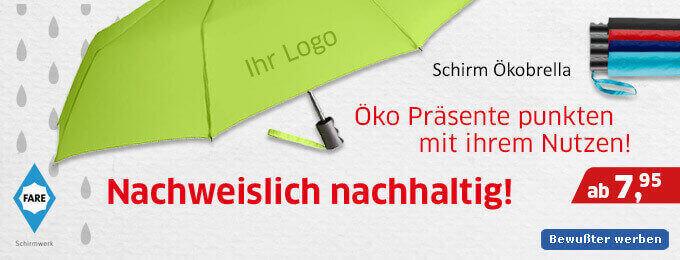 Nachhaltige Werbeartikel_Schirme