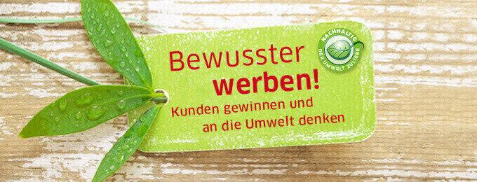 Nachhaltige Werbeartikel